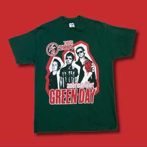 Green Day 2004 American Idiot Tour T-Shirt